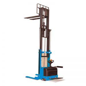 Apilador elevador eléctrico de servicio pesado