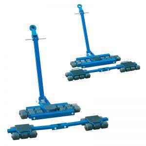 Grupo de patines orientables para trabajos pesados ET12