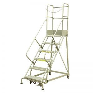 Escaleras rodantes industriales de acero RLC354